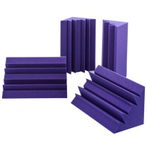 Auralex Acoustics Lenrd Bass Traps (Purple) (4 pcs.)