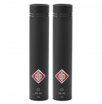 Neumann KM 184 Stereo Set (Black)