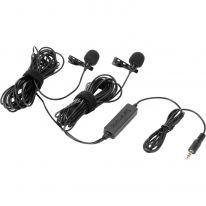 Saramonic LavMic 2m Dual Wired Lavalier Microphone (B-Stock)