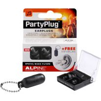 Alpine PartyPlug Earplugs (Black)
