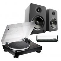 Audio Technica AT-LP5x + Kanto YU6 (Black) Bundle