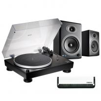 Audio Technica AT-LP5x + Audioengine A5+ Wireless (Black) Bundle