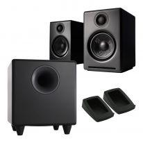 Audioengine A2+ Wireless + S8 Sub + Pads Bundle