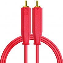 DJ Techtools Chroma Dual RCA - Dual RCA Cable 1.5m (Red)