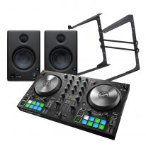 Native Instruments S2 MK3 + Presonus Eris E4.5 + Laptop Stand Bundle