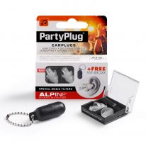 Alpine PartyPlug Earplugs (Transparent)