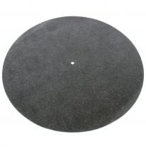 Tonar Black Leather Mat