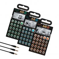 Teenage Engineering PO-12 + PO-14 + PO-16 + Sync Cables Bundle