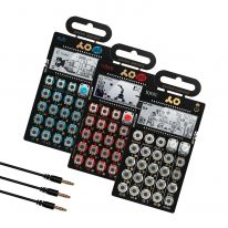 Teenage Engineering PO-32 + PO-14 + PO-28 + Sync Cables Bundle