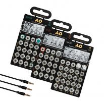 Teenage Engineering PO-32 + PO-33 + PO-35 + Sync Cables Bundle