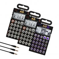 Teenage Engineering PO-33 + PO-20 + PO-12  + Sync Cables Bundle