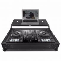 UDG Ultimate Flight Case Pioneer DDJ-800 Black Plus (Laptop Shelf) (U91071BL)