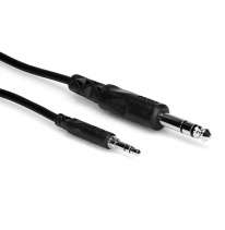 Hosa CMS-103 3.5mm TRS - 6.3mm TRS Cable 1m